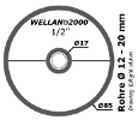 Wellan-Ring-1/2-Zoll